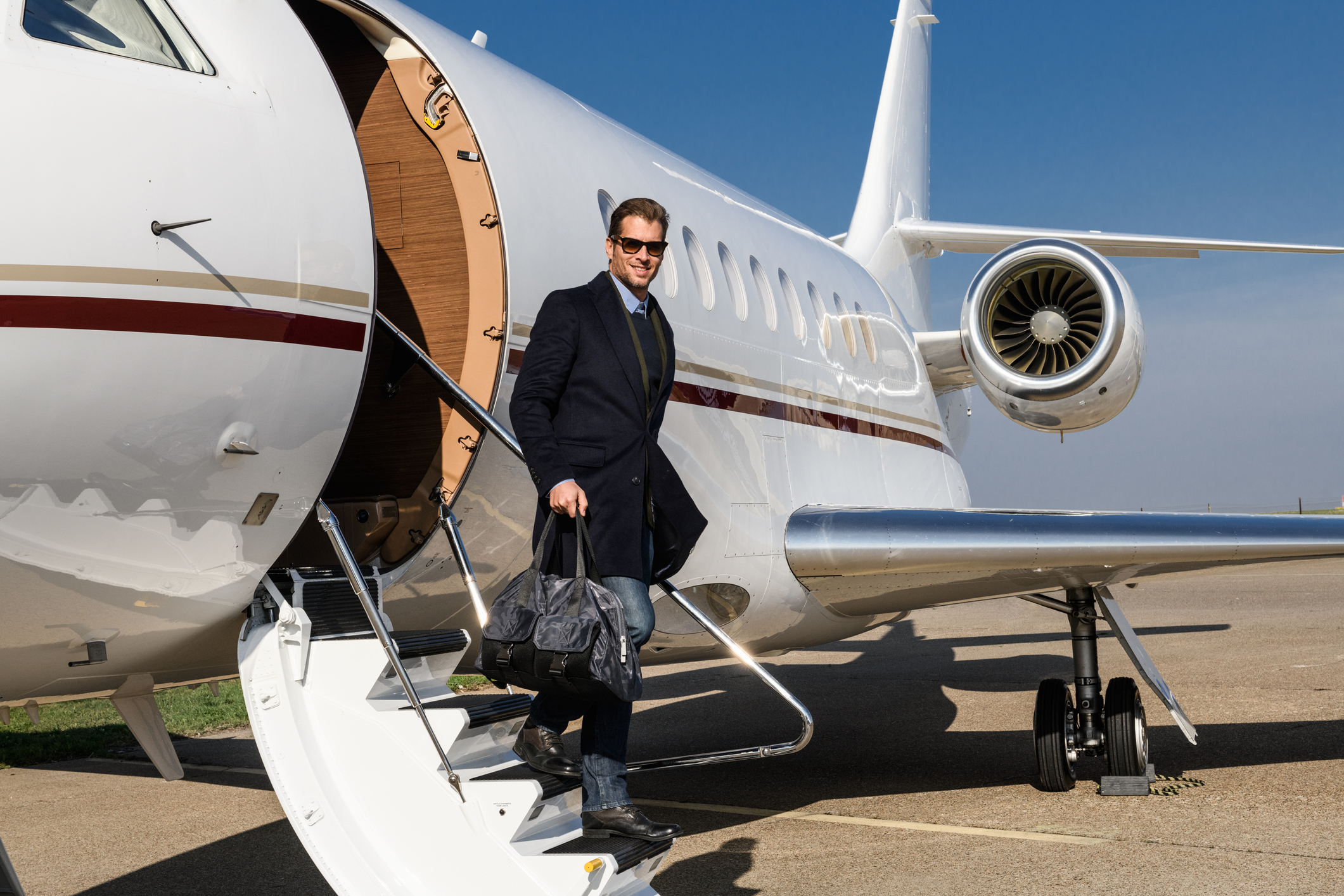 business corporate company jet charter for executives